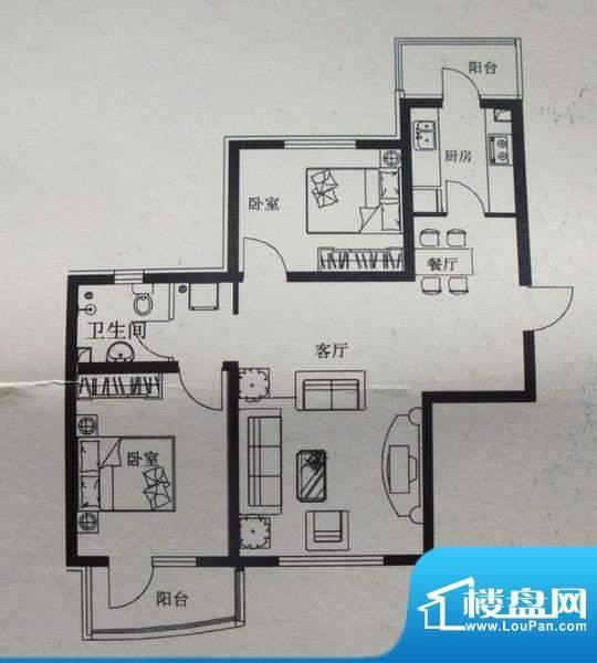 鑫宏·盛世户型图 面积:0.00m平米