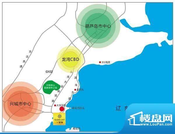 一等海交通图