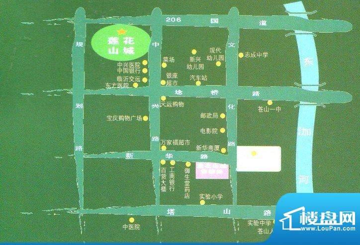 莲花山城交通图