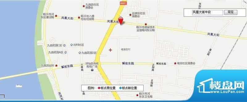凤舞明珠交通图