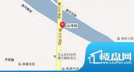 台湾城交通图