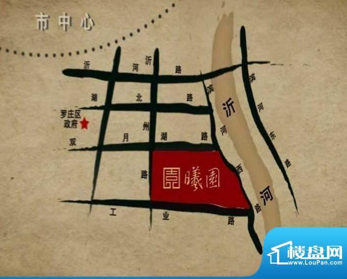 海纳曦园交通图