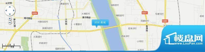 沂河·美域交通图