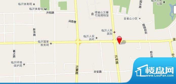 永昌花园交通图