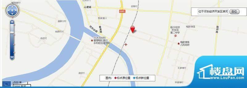 皇山别墅交通图