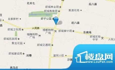 郯城商业广场效果图