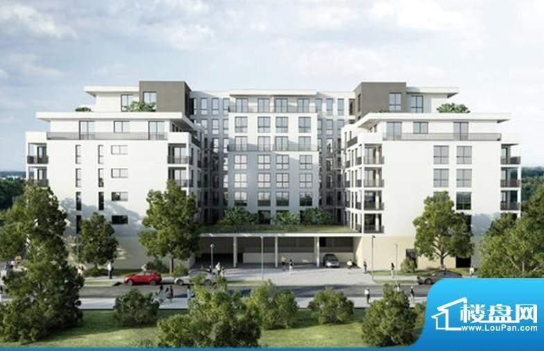 欧洲花园小区高档公寓A5仅售88万欧元