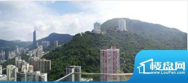 壹環(One WanChai) 遠眺層層山巒連綿