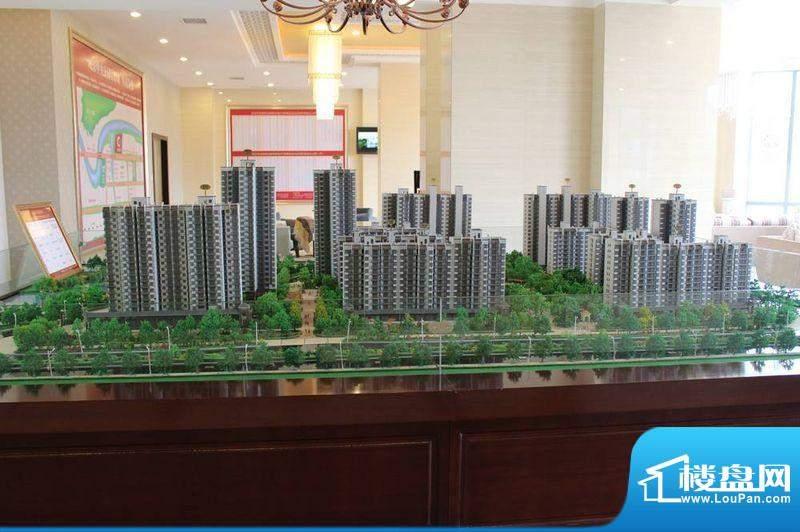 锦绣边城实景图