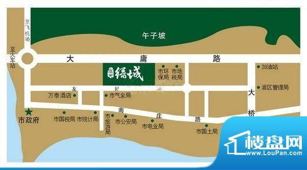 宏天绿城交通图