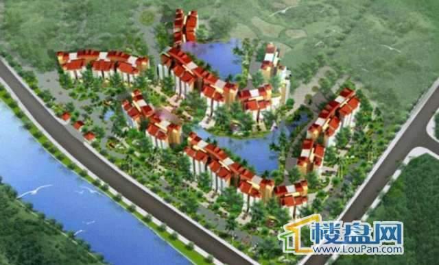 新世界花园度假村效果图