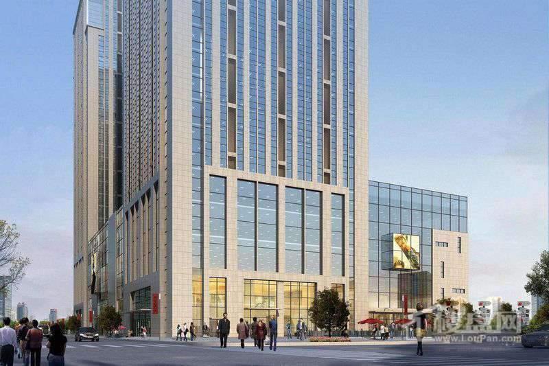 平和商务大厦效果图