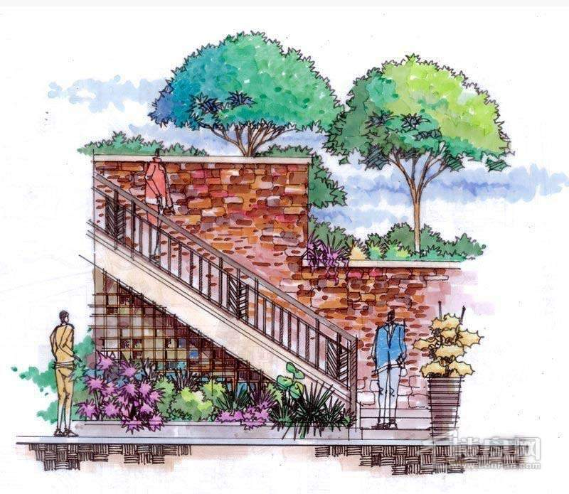 绿地美墅效果图