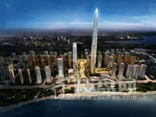 绿地国际金融城效果图