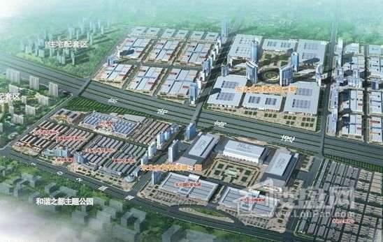 东北商贸物流城效果图
