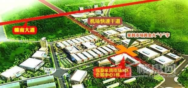 南康泓泰家具市场原产地商铺效果图
