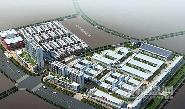 中国南方金属产业商贸物流城效果图