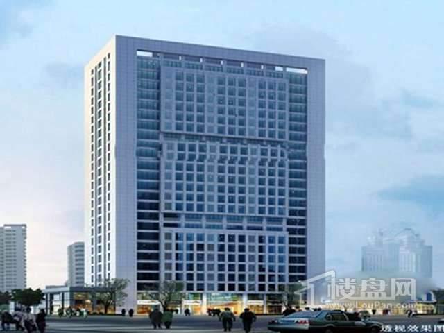 新联钢大厦效果图