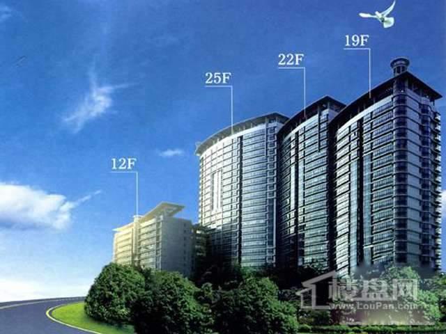 中威国际公寓效果图