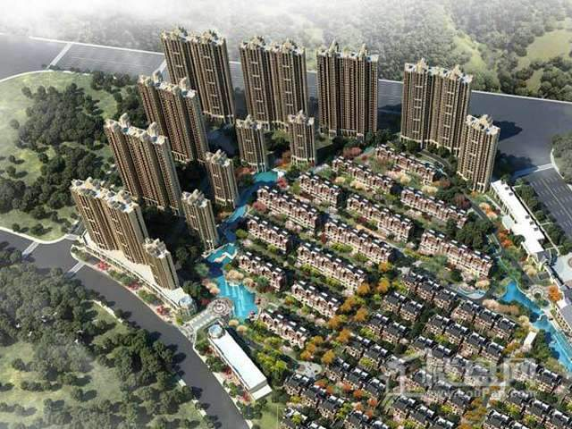 上海万业高铁商务区173504平住宅项目效果图