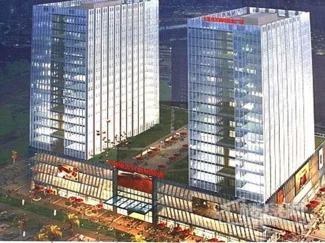 无锡港龙城市商业广场效果图