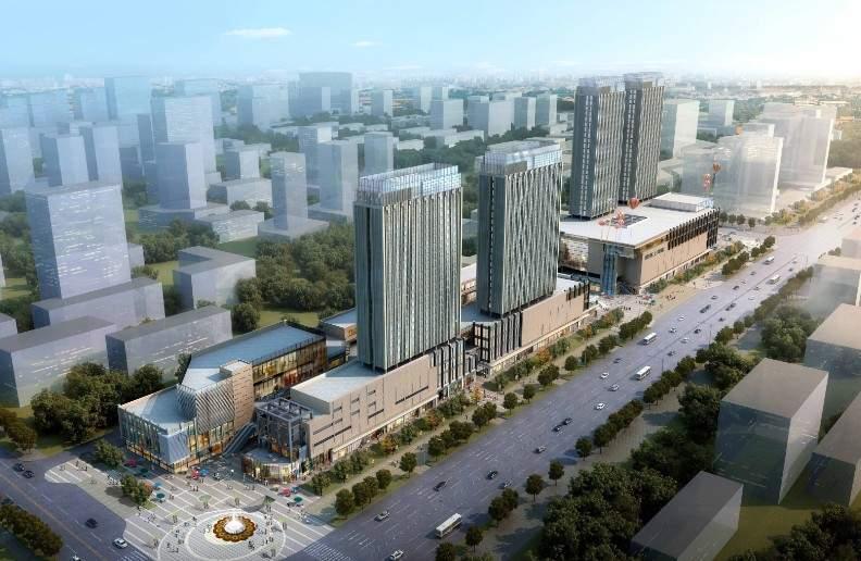 颐高·上海街效果图