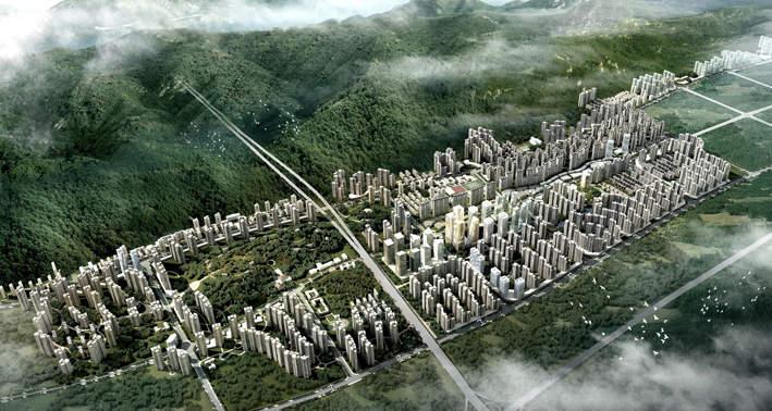 保利未来城市效果图