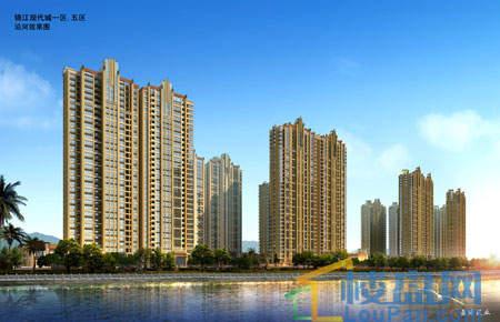 锦江·现代城效果图