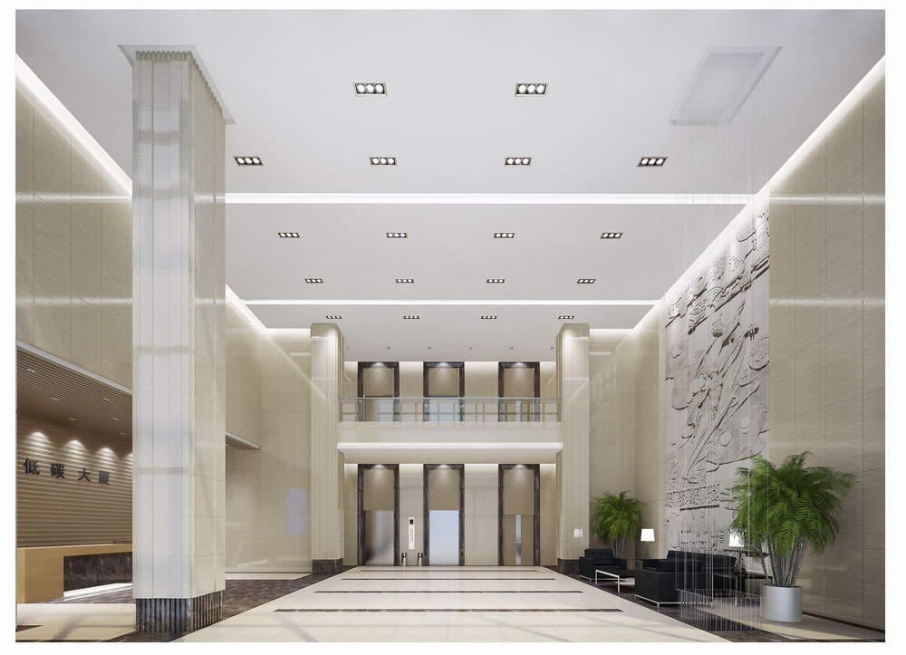内蒙古低碳经济总部大厦实景图