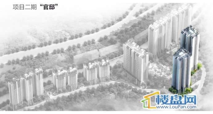 凤凰山水国际城实景图