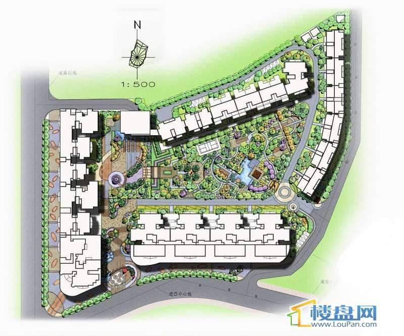 金都园林鑫城实景图