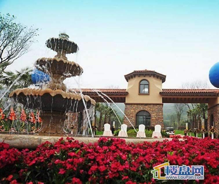 建宇雍山郡实景图