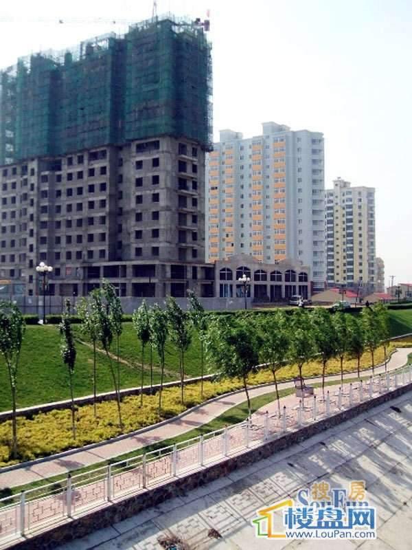 滨河盛仕广场实景图