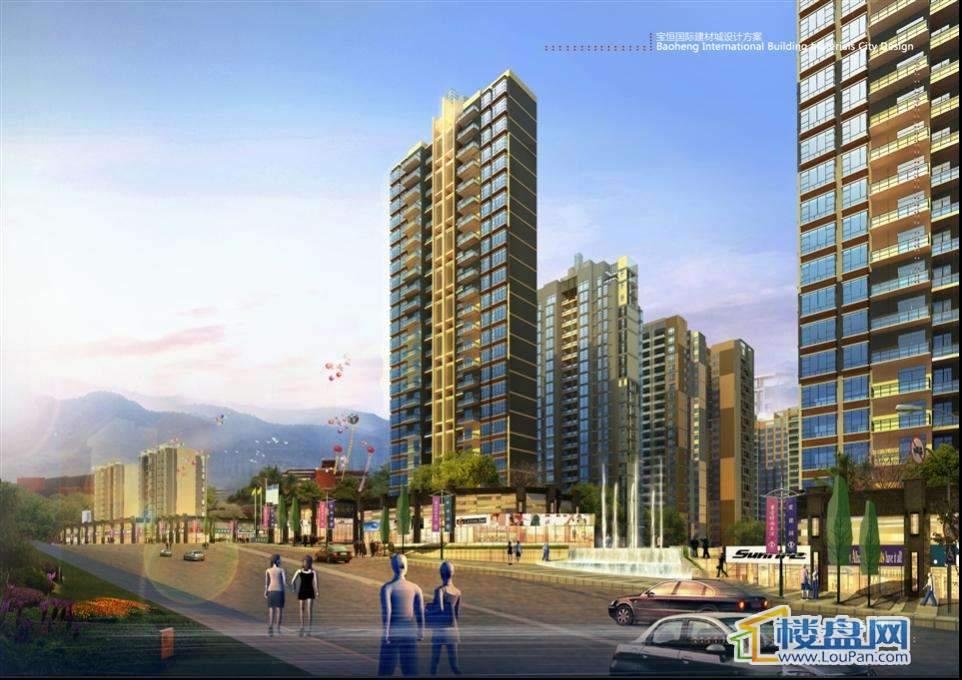 宝恒国际建材城实景图