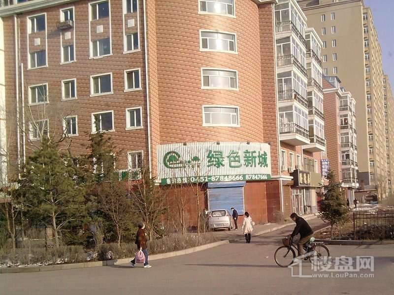 绿色新城实景图