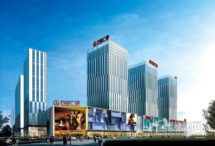 西安大明宫万达广场商铺实景图
