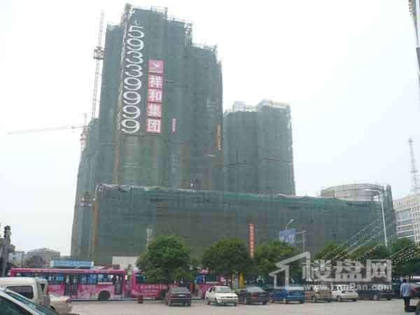 中央锦城实景图