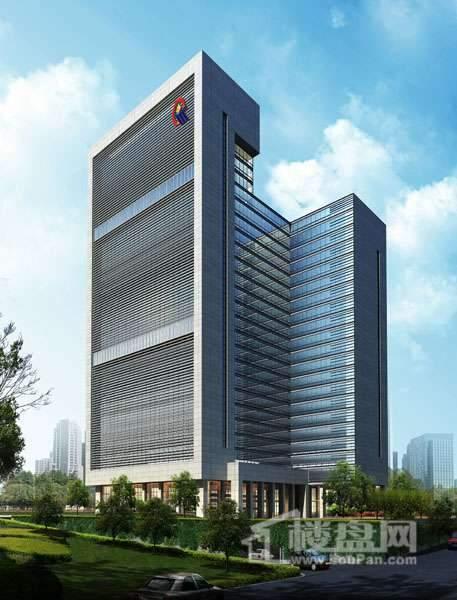 黔桂国际商务中心实景图