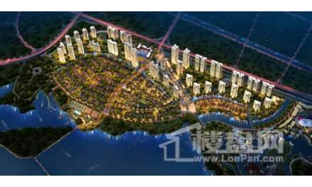 纯水岸东湖实景图