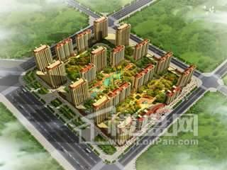 隆昌·东城天下实景图