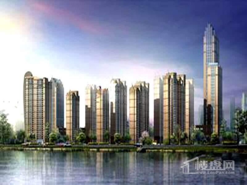 仁恒海河广场实景图