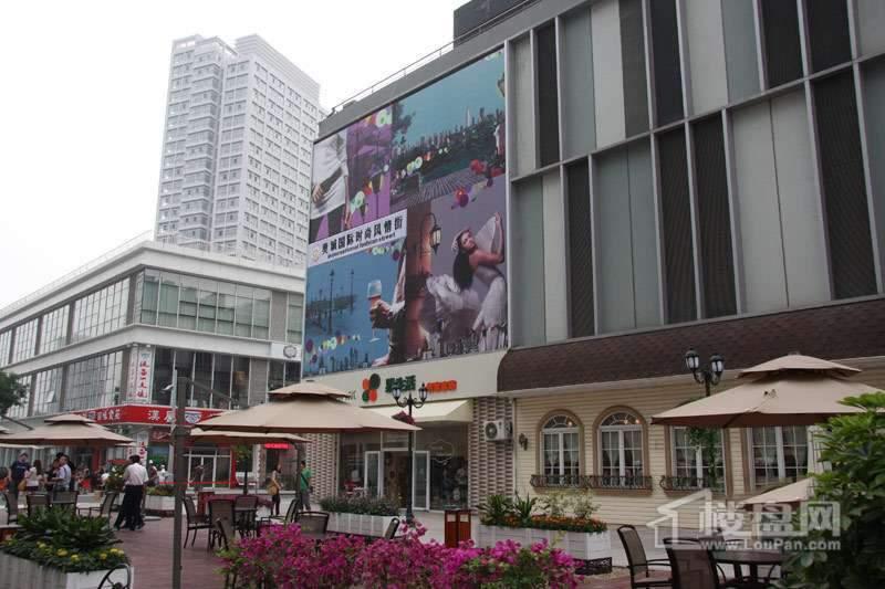 融创奥城商业广场实景图