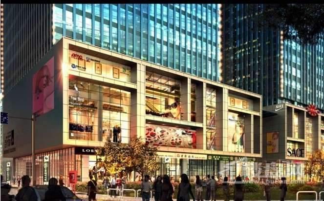 天津富力中心商铺实景图