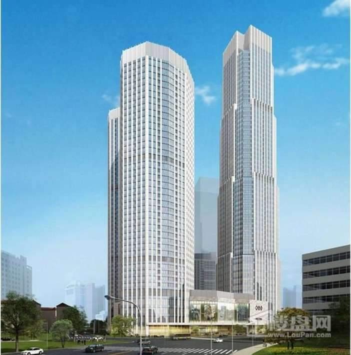 天津国际贸易中心实景图