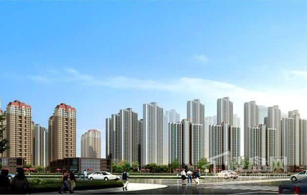 天津津南新城实景图