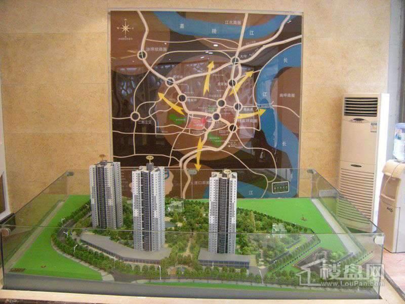 华美时代城 实景图