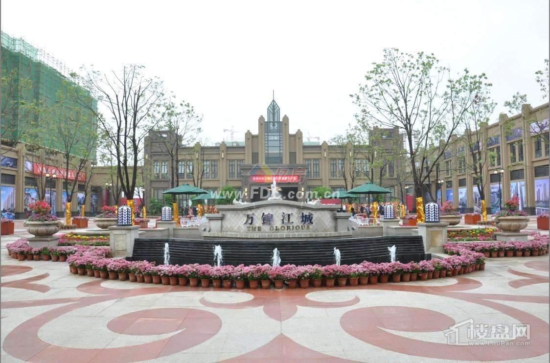 武汉万锦江城实景图