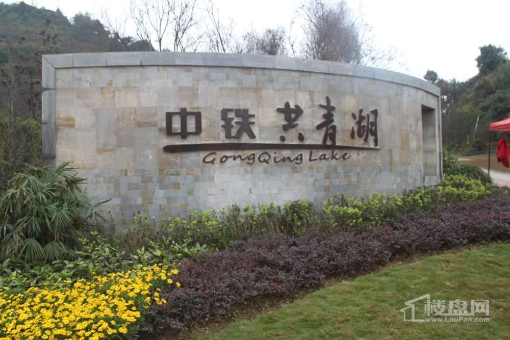 中铁共青湖实景图