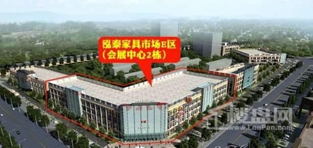 南康泓泰家具市场原产地商铺实景图