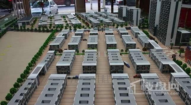 中国南方金属产业商贸物流城实景图